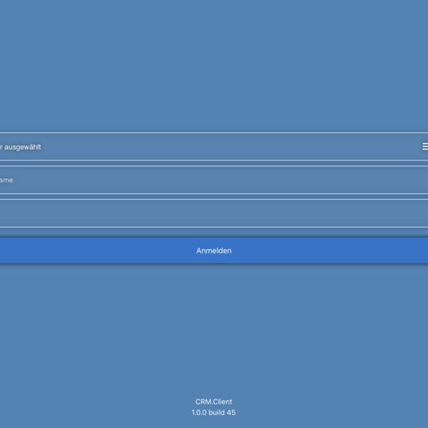 CRM.Client für iOS